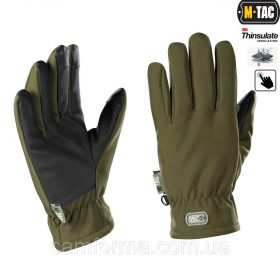 M-TAC ПЕРЧАТКИ SOFT SHELL THINSULATE OLIVE