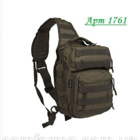 Рюкзак  MIL-TEC  10л ХАКИ  ONE STRAP ASSAULT PACK SMALL 14059101