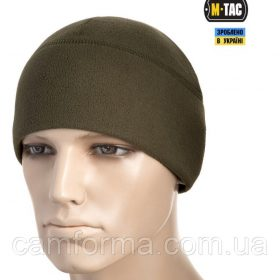 M-TAC ШАПКА WATCH CAP ELITE ФЛИС (260Г/М2) ARMY OLIVE (40002062)